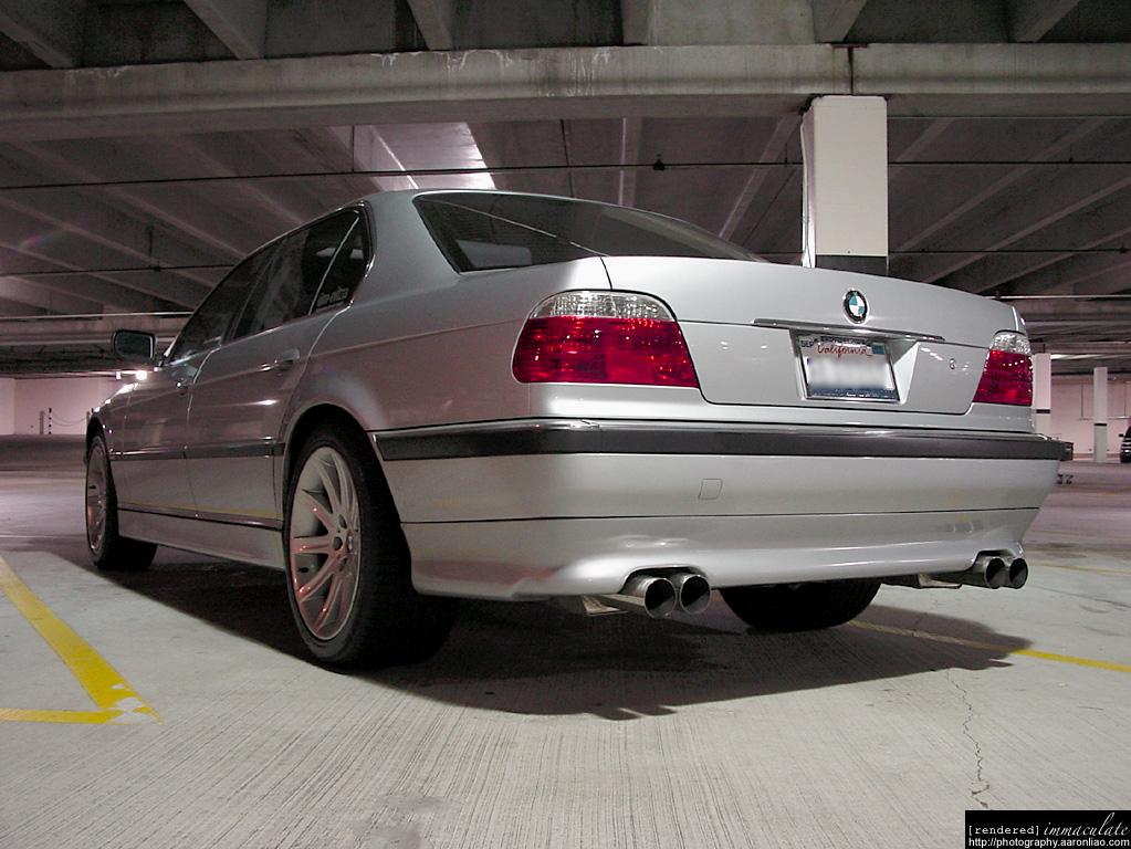 Aaron Liaos 1998 E38 BMW 740iL